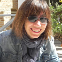 Maite, coordinadora de los talleres de traducción literaria